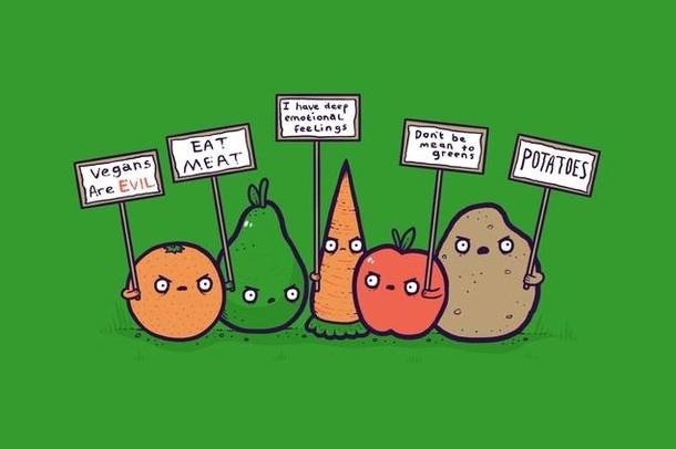 I vegani sono gli eroi del XX secolo? Io dico di no e vi spiego perché.