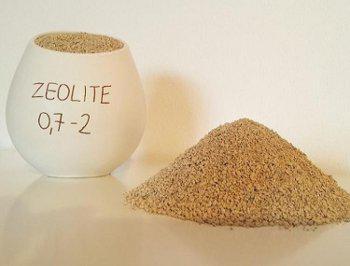 L' uso della zeolite: la pietra che bolle